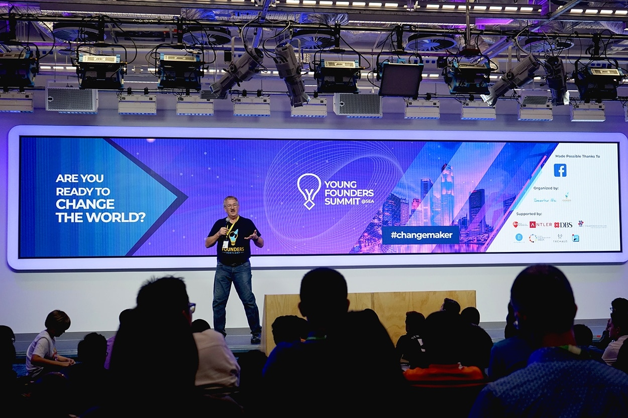 World's First High-School Accelerator Young Founders Summit Held in Singapore