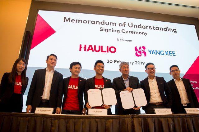 Haulio Connectivity, System, Haulio, Haulage, Singapore, Logistics, ports, shipping, PSA International
