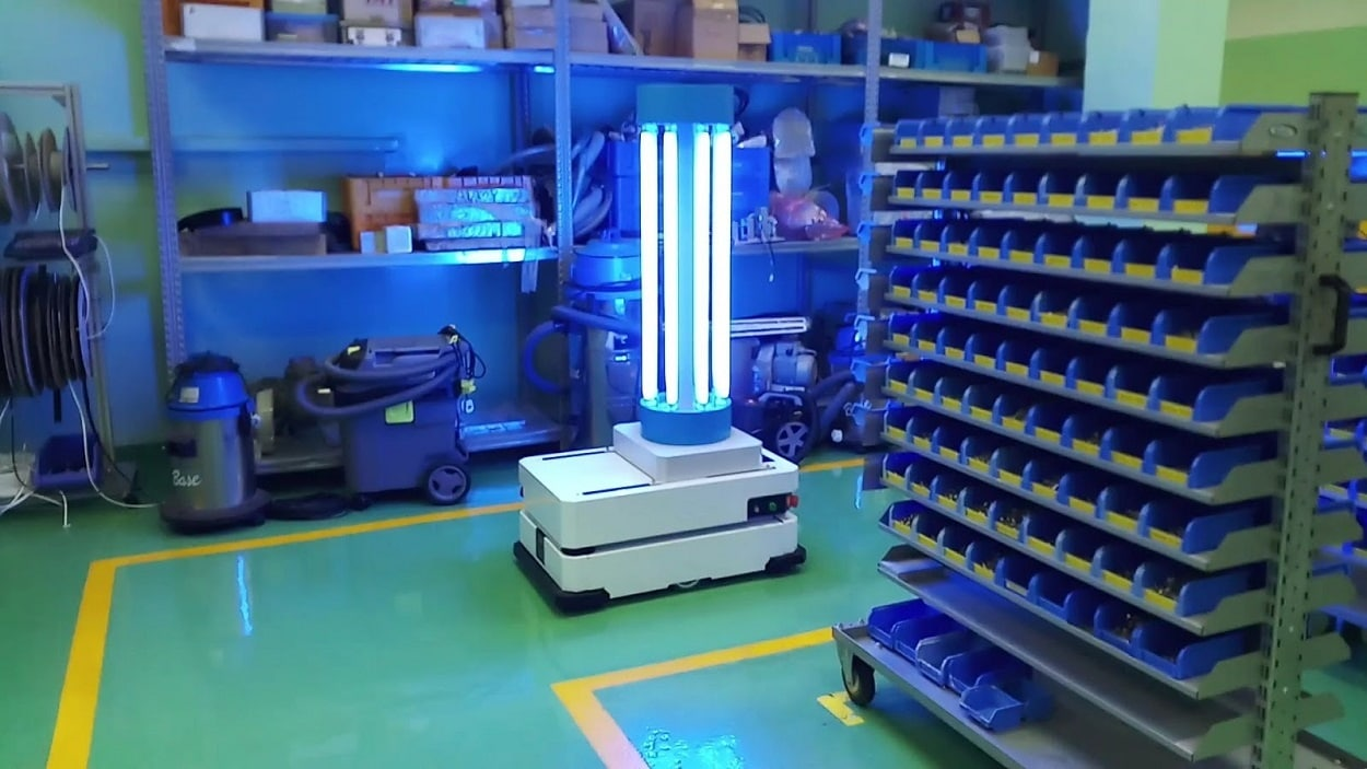 UV Disinfection Robot Deployed to Combat COVID-19