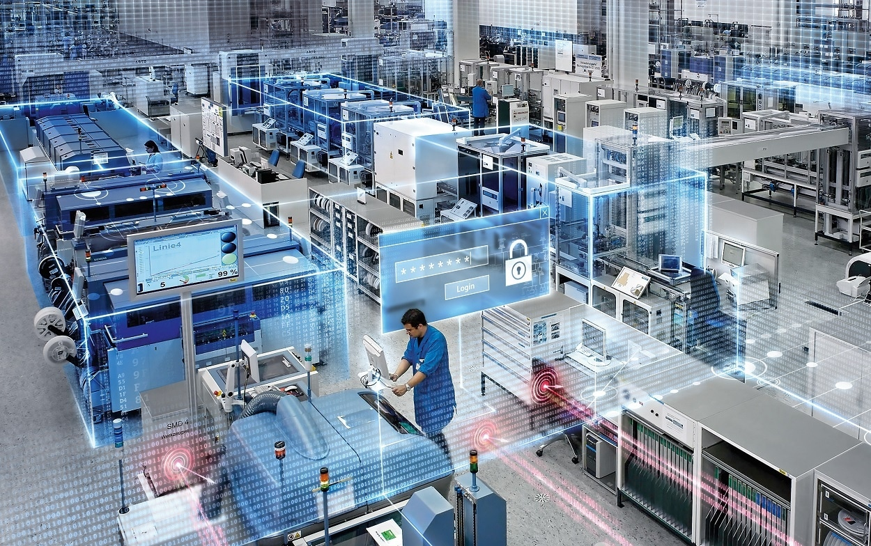 Siemens Workplace Distancing Manufacturers New Normal
