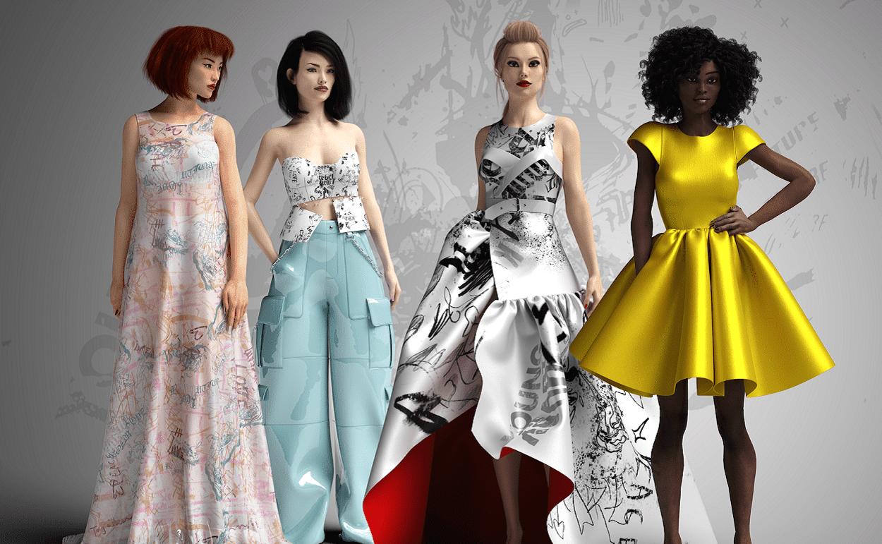Digital Fashion House republiqe Debuts Collection Using Virtual Realities